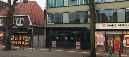 UDEN Marktstraat 47a winkelruimte met twee etages voor opslag